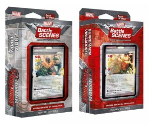 2 Decks Marvel Battle Scenes - Iniciativa Vingadores