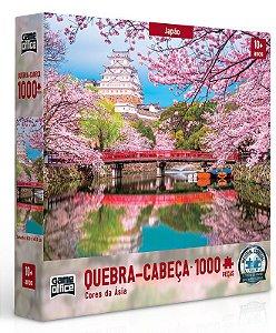 Quebra-cabeça 1000 peças - Cores da Ásia - Japão