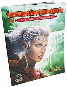Dungeons & Dragons - Aventuras para Quinta Edição #5 Na Garganta do Dragão