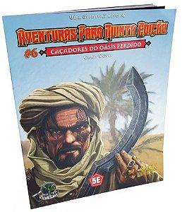 Dungeons & Dragons - Aventuras para Quinta Edição - Caçadores do Oásis Perdido