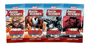 Marvel Battle Scenes - Múltiplas Identidades - 4 Boosters