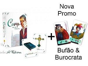 Coup + Nova Promo Bufão & Burocrata
