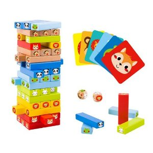 Stacking Game - Animals - Jenga Animais
