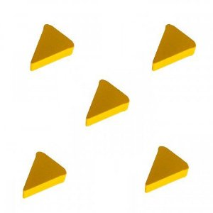 Pizza (Peça em Madeira) - Kit com 5 unidades