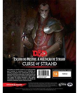 Dungeons & Dragons - Escudo do Mestre - A Maldição de Strahd