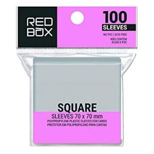 Sleeves Redbox Square (70x70mm)