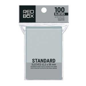 Sleeves Redbox Standard (63,5x88mm)