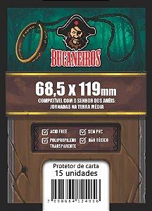 Sleeve Bucaneiros Customizado - O Senhor dos Anéis: Jornadas na Terra Média (68,5x119mm)