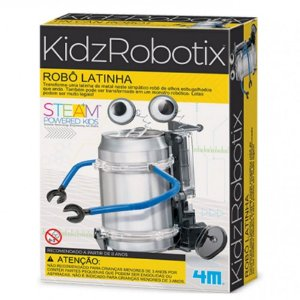 Robô Latinha - Brinquedo Educativo