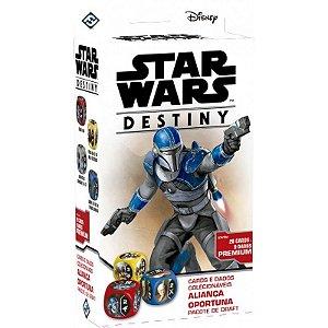 Star Wars Destiny - Aliança Oportuna - Pacote de Draft