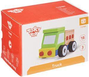 Caminhão Truck de Madeira Desmontável - Tooky Toy