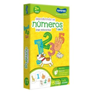 Descobrindo os números 1 ao 5