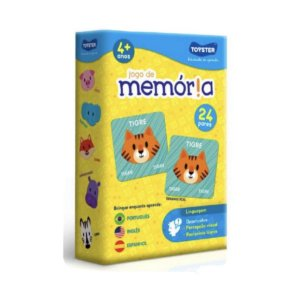 JOGO DA MEMÓRIA - PORTUGUÊS, INGLÊS E ESPANHOL