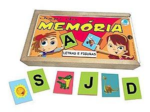 JOGO DA MEMÓRIA - LETRAS E FIGURAS
