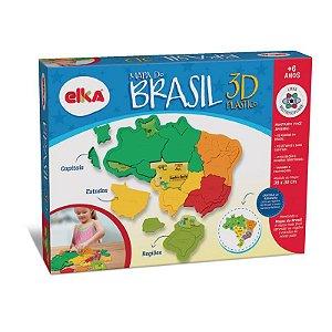 MAPA DO BRASIL 3D