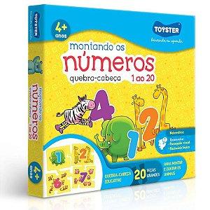 MONTANDO OS NÚMEROS DE 1 A 20