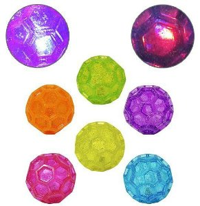 BOLA MANIA FLASH HEXAGONAL COM LUZ