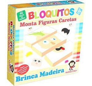 BLOQUITOS - MONTA FIGURAS CARETAS