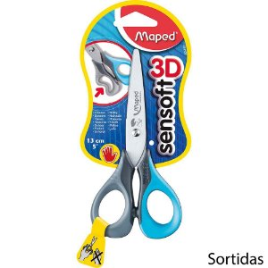 TESOURA SENSOFT 3D