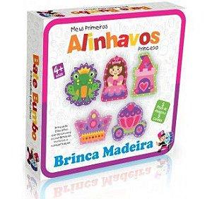 MEUS PRIMEIROS ALINHAVOS PRINCESA