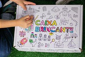 CAIXA BRINCANTE - DINOSSAURO