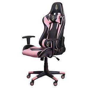 Cadeira Gamer Phantom Preta com Rosa - Gshield
