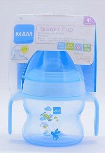 Copo MAM Starter Cup Azul 4+ meses
