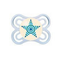 Chupeta MAM Perfect Night Azul Estrela Tamanho 1 0-6 meses