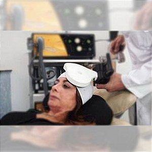 Kit misto com 20  toucas com fecho + 10 toucas com elástico para sessão Estimulação Magnética Transcraniana - EMT / TMS