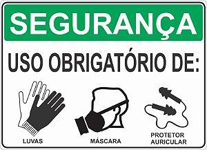 47a1e7e8a1b75 SEGURANÇA USO OBRIGATÓRIO DE   AVENTAL