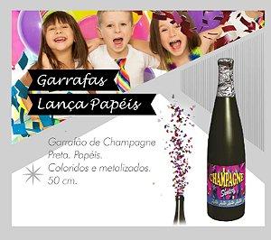 Lança Confetes Garrafão de Champagne 50 cm