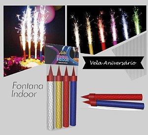 Vela Fontana Fogos Indoor (Aniversário)