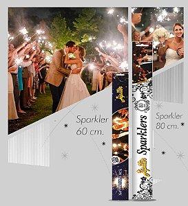 Velas Sparklers 80 cm para Festas e Eventos