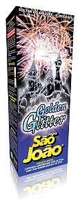 Foguete de Cor Golden Glitter - São João
