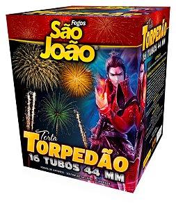 Torta Torpedão Mix - 16 Tubos São João