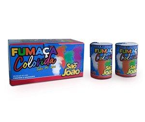 Fumaça Colorida Grande - Cx 06 und.
