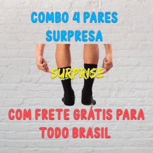 Kit 4 pares SURPRESA - Casalwod