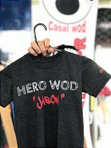 Camisa Infantil Crossfit - JASON - Preta