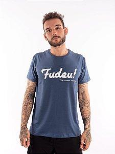Camisa T-shirt Casal Wod Crossfit - CORRIDA NO WOD!  (Azul Jeans)