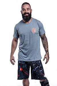 Camisa T-shirt Casal Wod Crossfit - BATER PR CW (Turquesa)