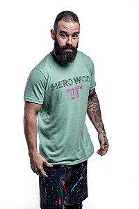 Camisa T-Shirt Casal Wod Crossfit - HERO WOD DT (Verde)