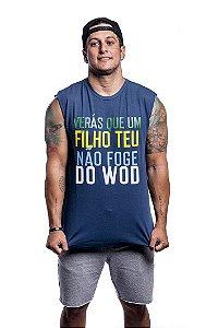 Regatão Casal Wod Crossfit - FILHO DO WOD (Azul)