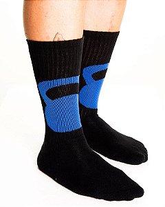 Meia Crossfit - Kettlebell (Azul)
