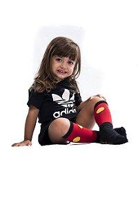 Meia Infantil - MICKEY (Vermelho)