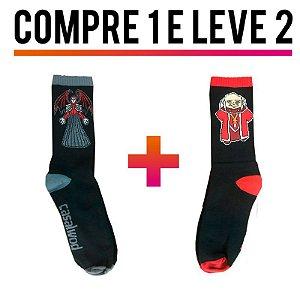 Meia Crossfit - COMPRE 1 LEVE 2 - VINGADOR E MESTRE DOS MAGOS