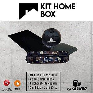 Kit Home Box CASALWOD - Treine em casa - Fique em Casa
