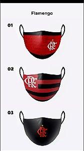 Kit com 3 máscaras premium  de alta proteção lávavel - MENGÃO