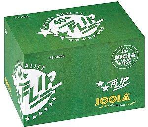 Bola de Plástico sem costura JOOLA Flip 40+ - Caixa com 72 unidades
