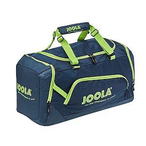 Mala Grande Compact Bag 17 - Marinho com verde