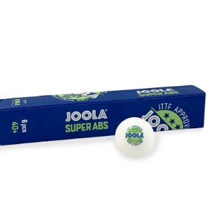 Bola de plástico Joola Super ABS 40+ 3 estrelas - caixa com 6 unidades